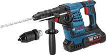 Revenda Martelos perfuradores - Martelo perfurador Bosch GBH 36 VF-LI Plus 2x 6,0 Ah + L-BOXX