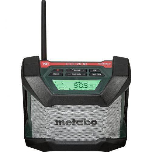 Comprar  - Rádio Metabo R 12-18 BT cordless construction site radio