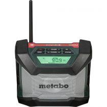 Revenda Rádio Outdoor / Estaleiros Obra - Rádio Metabo R 12-18 BT cordless construction site radio