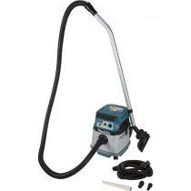 Revenda Aspirador a seco e a molhado - Aspirador Makita DVC157LZX3 sem-fios Wet/Dry Extractor