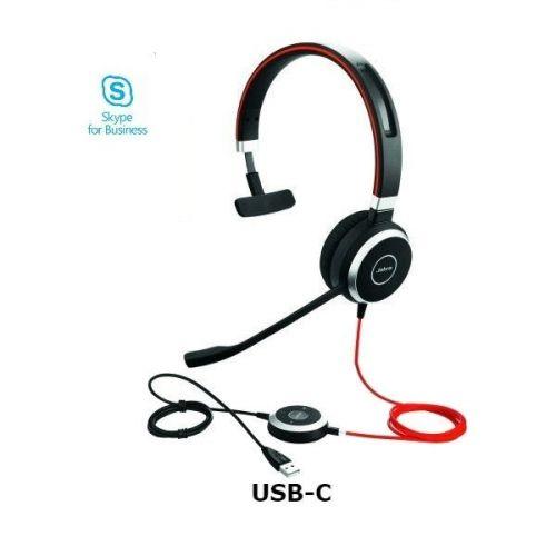 Comprar  - Auricular Jabra Evolve 40 MS Mono - USB-C