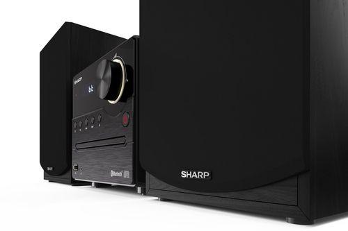 Mini Hifi Sharp XL-B512BK black