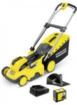 Revenda Aparadores/Tesouras de relva - Corta relva Karcher LMO 36-40 Bateria Set cordless lawn mower