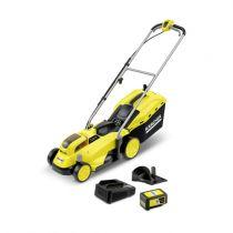 Revenda Aparadores/Tesouras de relva - Corta relva Karcher LMO 18-33 Bateria Set cordless lawn mower