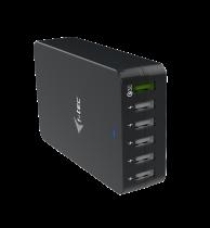 Comprar Carregadores / Suporte iPhone - Charge Station i-tec USB Smart Charger 6x USB-A Port 52W