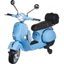 Revenda Brinquedos Ar Livre - Actionbikes Vespa PX 150 azul Kids Electric Scooter