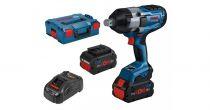 Revenda Aparafusadoras - Aparafusadora Bosch GDS 18V-1050 H Kit L-BOXX Chave Impacto semfios