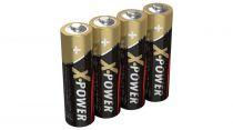 Revenda Pilhas - Pilha Ansmann X-Power 4un. AA   Alkali manganese   Type: AA (Mignon)
