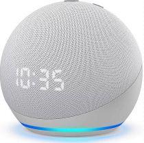 Comprar Colunas Sem Fio - Amazon Echo Dot 4 (4rd) Branco com relógio