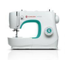 Revenda Máquinas de Costura - Máquina Costura Singer M3305 branco | Tipos de costura: para frente, p