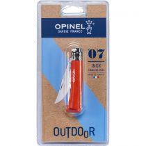 Revenda Canivetes / Facas Outdoor - Faca bolso Opinel pocket knife No. 07 Beech wood, Orange