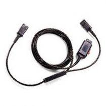 Comprar Auriculares - Plantronics TrainerCable para 4-PIN-QD Y-Cable preto | Y-Cable | 2x QD