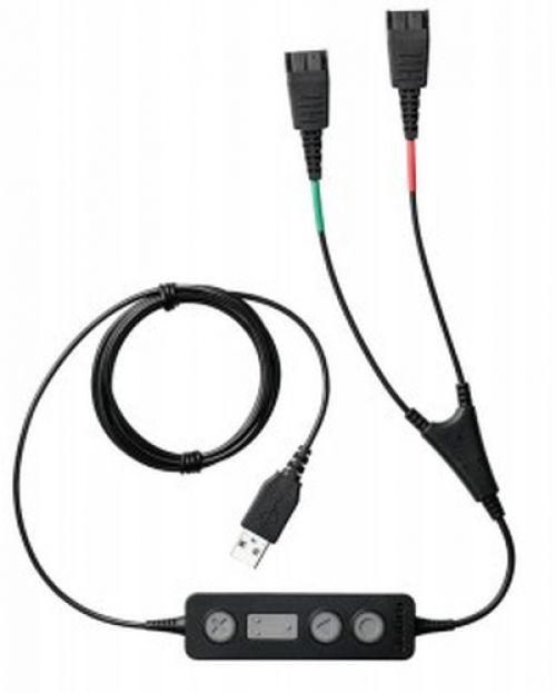 Comprar  - Jabra LINK 265 2x QD para USB Training cabo preto | connection cabo