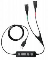 Comprar Acessórios DECT - Jabra LINK 265 2x QD para USB Training cabo preto | connection cabo