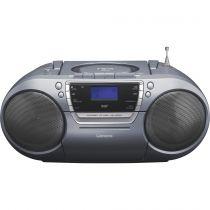 Comprar Rádio Cassette / CD - Radio CD Lenco SCD-680GY cinza
