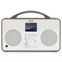Comprar Rádios para Internet - Rádio para Internet Lenco PIR-645 branco