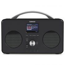 Revenda Rádios para Internet - Rádio para Internet Lenco PIR-645 preto