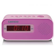 Revenda Relógios/Despertadores - Despertador Lenco CR-205 pink