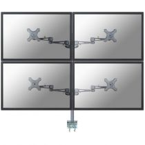 Revenda Suporte LCD/Plasma/TFT - NewStar FPMA-D935D4 Mount 4 visores LCD (full-motion) prata tamanho te