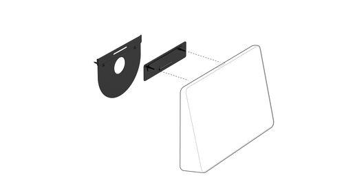 Logitech Tap Suporte Parede Kit montagem controlador vídeo conferência