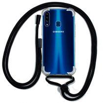 Comprar Acessórios Samsung A Series 2017 - Capa Samsung Galaxy A20s c/fio Preto