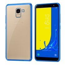 Comprar Acessórios Galaxy J3/J5/J7 2017 - Capa Samsung J600 Galaxy J6 Borde Metalizado (Azul)