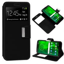 Revenda Acessórios Motorola - Bolsa Flip Cover Motorola Moto G6 Liso Preto