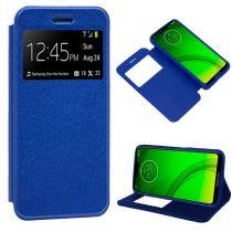 Revenda Acessórios Motorola - Bolsa Flip Cover Motorola Moto G7 / G7 Plus Liso Azul