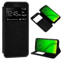 Revenda Acessórios Motorola - Bolsa Flip Cover Motorola Moto G7 / G7 Plus Liso Preto