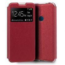 Comprar Smartphones Alcatel - Bolsa Flip Cover Alcatel 1S (2020) / 3L (2020) Liso Vermelho
