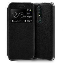 Comprar Smartphones Alcatel - Bolsa Flip Cover Alcatel 3 (2019) Liso Preto