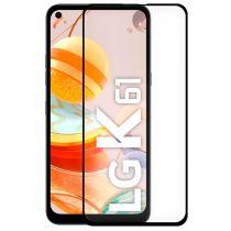 Comprar Protectores Ecrã - Protetor Ecrã Vidro temperado LG K61 (FULL 3D Preto)