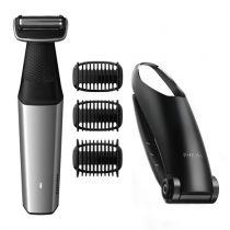 Revenda Máquinas Barbear - Maquina Barbear CORPORAL PHILIPS BODYGROOM 5000 Preto/Silver