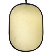 Revenda Difusores Flash - walimex Foldable Reflector gold/silver, 102x168cm