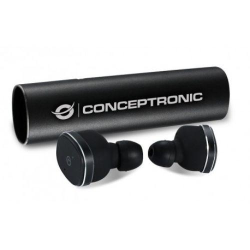 Comprar  - CONCEPTRONIC Earbuds Bluetooth Power2Go Preto CTBTEARBUD55
