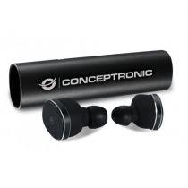 Revenda Auscultadores Conceptronic - CONCEPTRONIC Earbuds Bluetooth Power2Go Preto CTBTEARBUD55