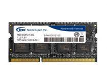 Revenda Memórias Portátil - Memória RAM SODimm Team Group 4GB DDR3 1333MHz CL9 1.5V - TED34G1333C9