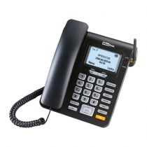 Comprar Telefones Fixos Analógicos - Telefone Fixo Maxcom  Comfort MM28D Single SIM 2G Preto