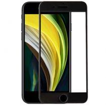 Revenda Acessórios iPhone 7 - Protetor Ecrã Vidro Temperado iPhone SE (2020) (FULL 3D Preto)