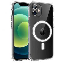 Revenda Acessórios iPhone 12 / Pro / mini - Capa iPhone 12 / 12 Pro Magnética Transparente