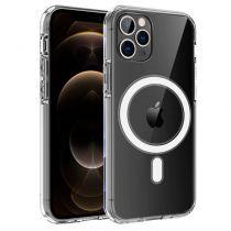 Revenda Acessórios iPhone 12 / Pro / mini - Capa iPhone 12 Pro Max Magnética Transparente