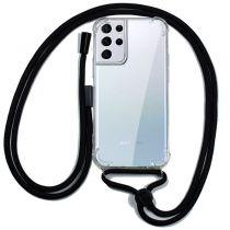 Revenda Acessórios Galaxy S21 Ultra - Capa Samsung G998 Galaxy S21 Ultra c/fio Preto