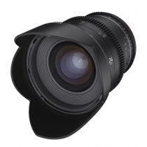 Revenda Objectivas p/ Nikon - Objetiva Samyang MF 14mm T3,1 VDSLR MK2 Nikon F