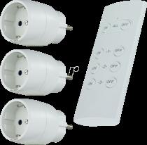 Revenda Adaptadores de Rede - REV Funk-Schalt-Set 3 + 1 kompakt branco