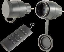 Revenda Adaptadores de Rede - REV Funk-Schalt-Set 2 + 1 Mini outdoor preto