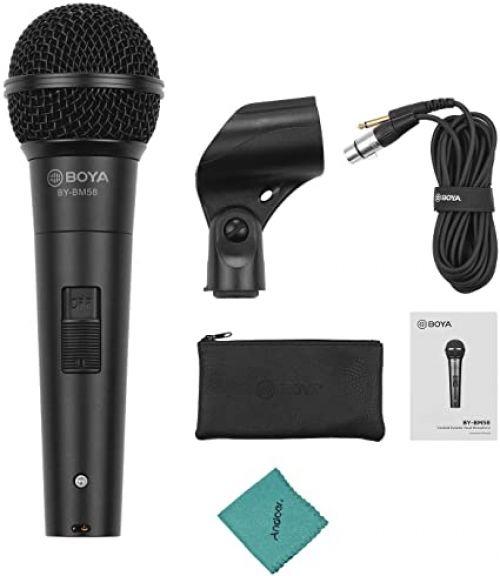 Comprar  - Microfone BOYA BY-BM58 Gesangs-HandMicrofone