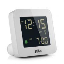Revenda Relógios Parede - Braun BC 09 W-DCF Despertador Multiband branco