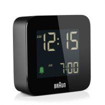 Revenda Relógios Parede - Braun BC 08 B-DCF Despertador Multiband preto
