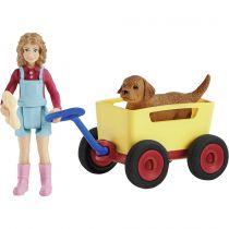 Revenda Figuras Animais - Schleich Farm World     42543 Bollerwagen-Ausflug