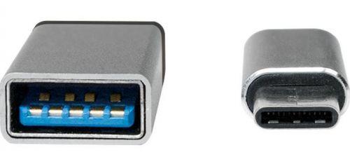 LogiLink USB 3.0 Adapter 1x USB-C plug - 1x USB 2.0 port Micro B, USB